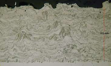 Microstructure of Arc Sprayed 13Cr Steel Coating
