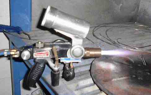Metco 5P Flame Spray Gun