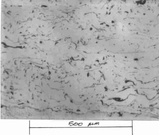 Microstructure of Arc Spray Nickel Aluminium Alloy Coating