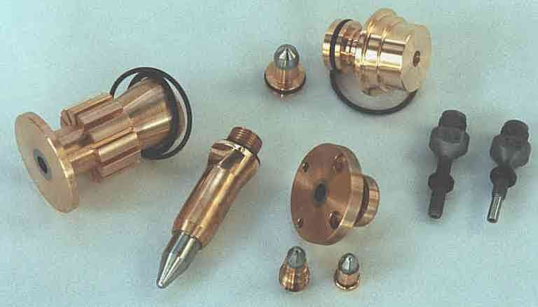 Plasma Nozzles, Electrodes and Powder Ports