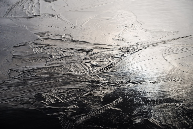 Abstract Crystalline Ice Texture